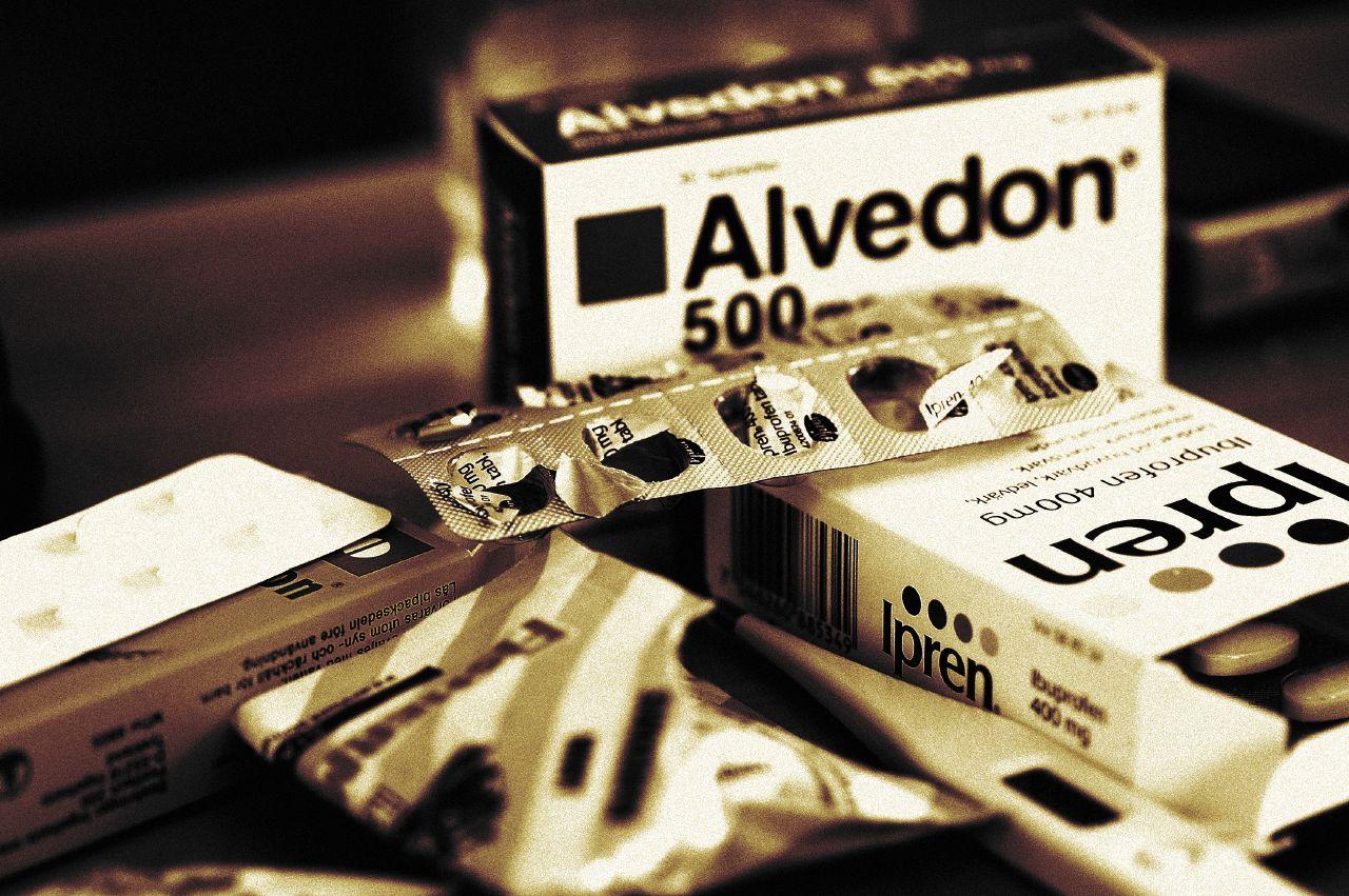 Paracetamol hittar du i t.ex Alvedon