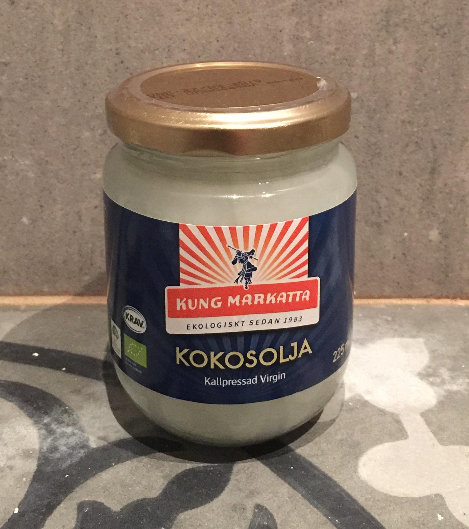 kokosolja från kungmarkatta är kravmärkt
