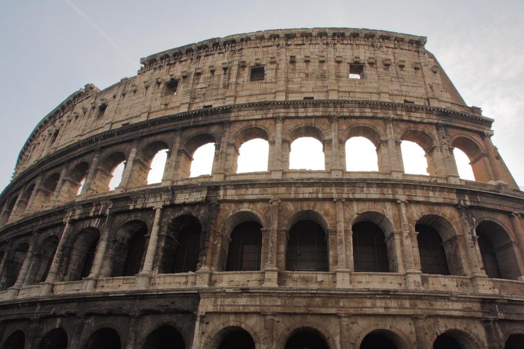 Som gladiator kunde du få slåss på Colosseum