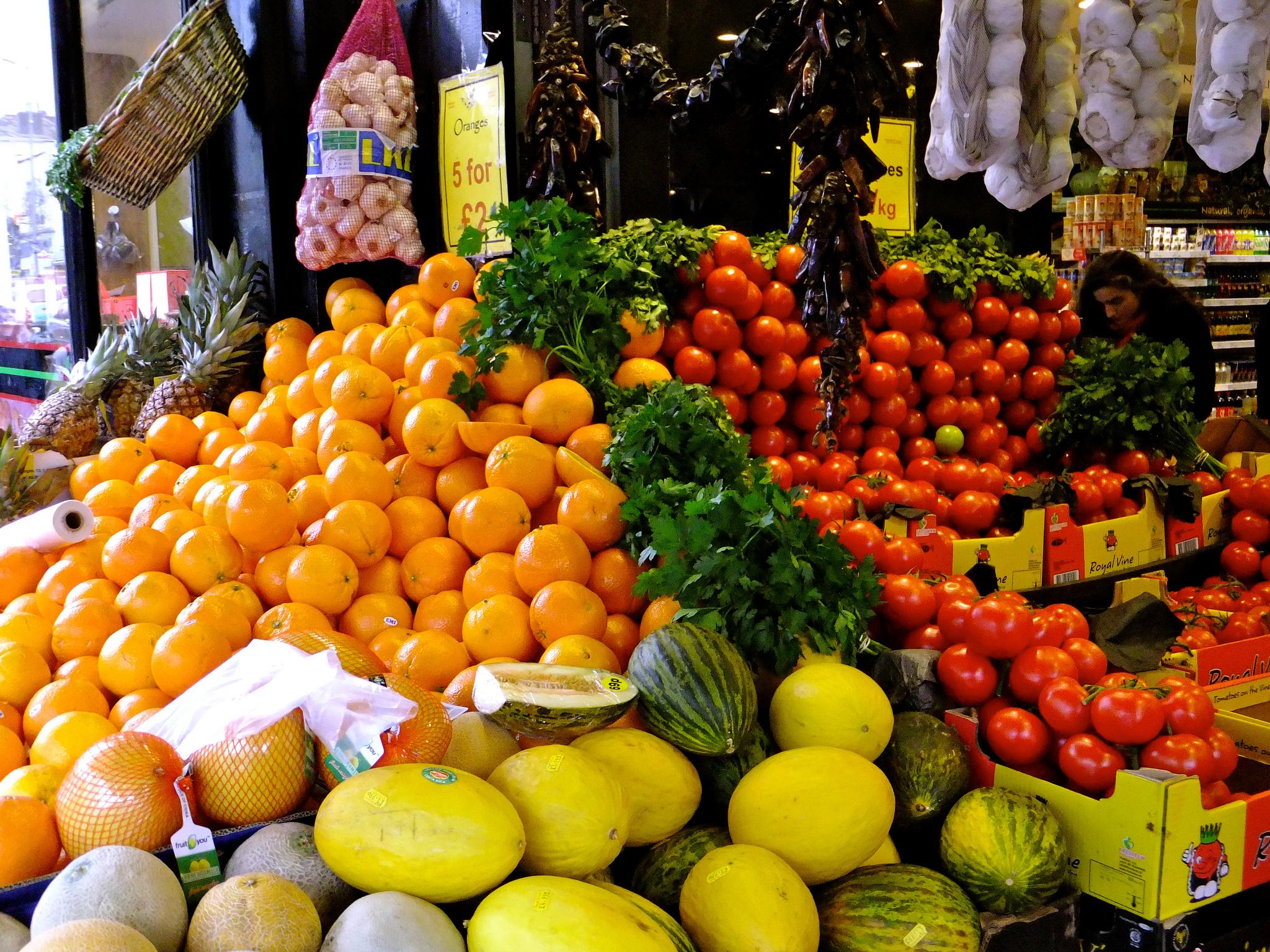Frukt och grönsaker är bra för din hälsa