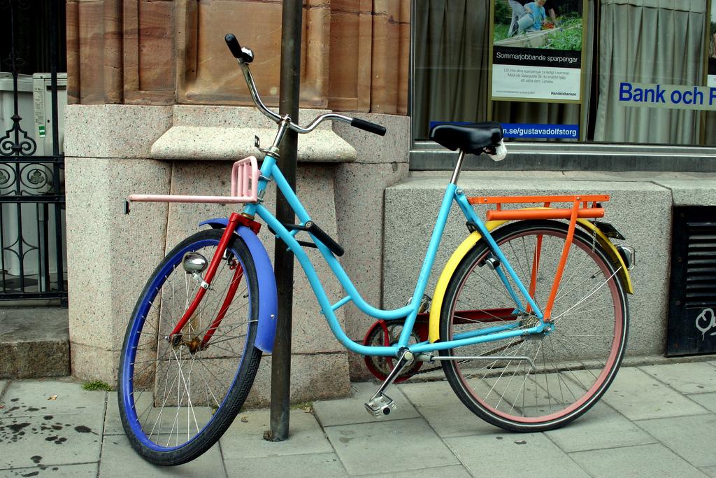 Cykel till jobbet är både skonsamt för dig och miljön